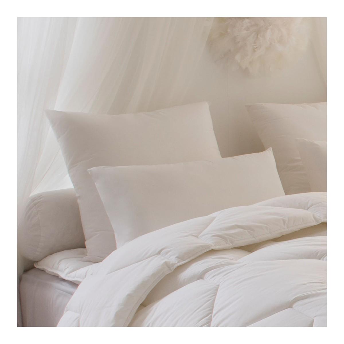 taie d 39 oreiller onea percale bourdon linge de lit. Black Bedroom Furniture Sets. Home Design Ideas