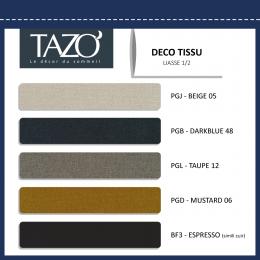 Tête de lit en tissu Tête de lit Prato Tazo
