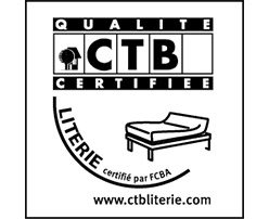 label CTB literie