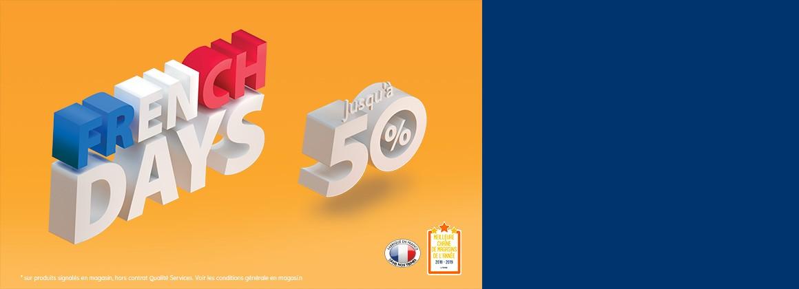 Jusqu'à -50%* sur des matelas, sommiers et accessoires de lit en magasin