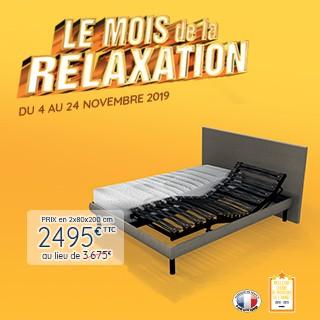 Profitez du mois de la relaxation !